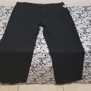 Black Khakis from Gap 38x32 relaxed NWT